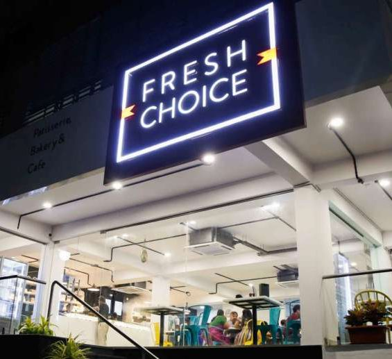 Fresh Choice, the cafe that is a dream come true hangout in Vizag.